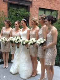 rose gold sequin bridesmaid dresses nvop dresses trend