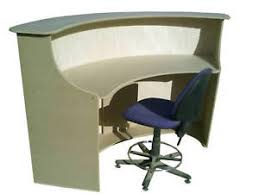 Retail Desk Shop Office Retail Counter Curved Reception Desk Pos Quality Uk