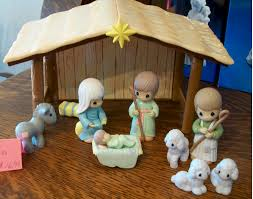 decor teak isle christmas outdoor nativity sets