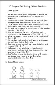 sample thanksgiving prayer 10 prayers for sunday teachers u2013 prayer in every city