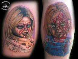 best 25 chucky tattoo ideas on pinterest tiffany chucky bride