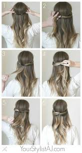 Frisuren Lange Haare Zum Selber Machen by Schöne Frisuren Für Lange Haare Zum Selber Machen 2017 Dickes Haar