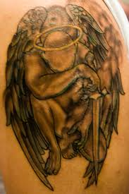 angel and demon tattoos in 2017 real photo pictures images and