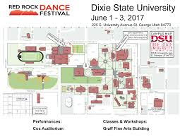 University Of Arkansas Campus Map Dance Festival Saint George Dance Company