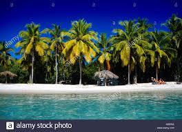 honeymoon beach water island us virgin islands caribbean stock