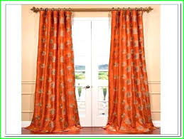 Blue And Orange Curtains Grey And Orange Curtains Orange And Grey Curtains Burnt Orange