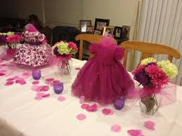 Amazing Girl Baby Shower Decorations Ideas Home Design Image