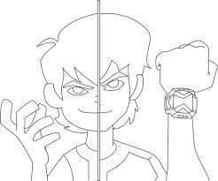 ben 10 alien force coloring pages swfire coloring coloring home