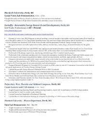 Sample Academic Resume by Academic Resume Afsaneh Cooper Sep 2014
