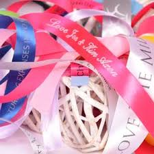 printed ribbon printed ribbon metallic ink say it in style