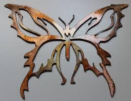 Garden Metal Decor Butterfly Garden Metal Wall Art Decor Sculpture Wallartideas Info