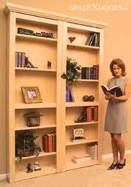 Building A Bookshelf Door How To Build A Sliding Door Bookshelf For Your Secret Room Http
