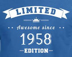 gift for turning 60 60th birthday shirt etsy