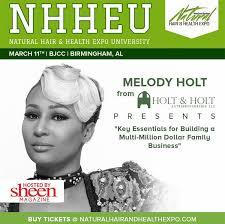 hairshow magazine melody s holt