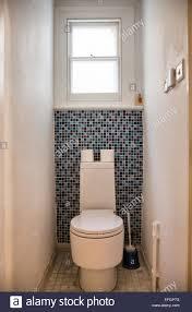 small toilet small toilet with mosaic tiles stock photo 78430004 alamy