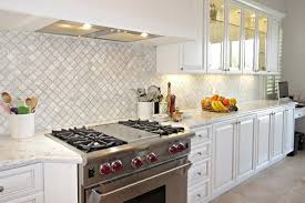 carrara marble kitchen backsplash transitional white marble arabesque backsplash
