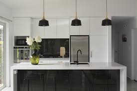 kitchen black and white minimalist kitchen ideas grey and white