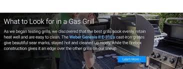 Top Gas Grills The Best Gas Grills Of 2017 Top Ten Reviews