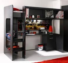 lit mezzanine ado avec bureau et rangement mezzanine avec rangement maison design wiblia com