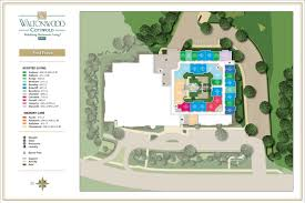 senior living floor plans by waltonwood cotswold