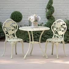 Iron Bistro Table Fleur De Lis Cast Iron Bistro Set Kirklands