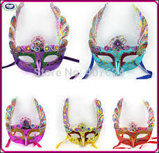 masquerade masks in bulk 10pcs lot new masquerade mask 6colors embroidery butterfly mask