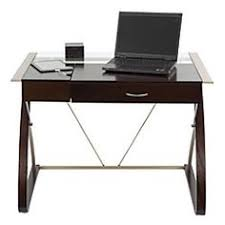 Glass Top Desk Office Depot We Really Like The Brenton Studio Merido Collection Main Desk From