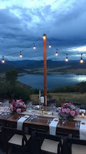 Colorado Wedding Venues Wedding Venue Review Bella Vista Estate In Steamboat Springs Co
