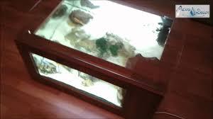 coffee table aquarium aqua table basic youtube