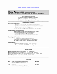 functional resume format exle 15 new functional resume format resume sle template and format