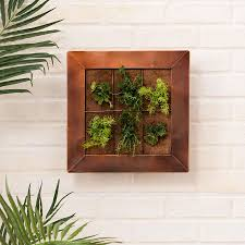 copper wall planter kmart outdoor pinterest copper wall