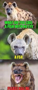 Please Kill Me Meme - what do you call a fish with no eye a fsh please kill me meme