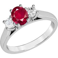 ruby and engagement rings ruby gemstone rings purely diamonds