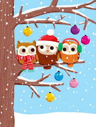 christmas owls this would be an adorable bulletin board next year