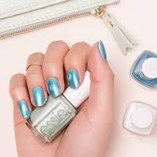 essie cool glacier nail art by essie looks