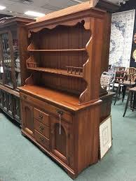 cherry open top hutch heirloom home