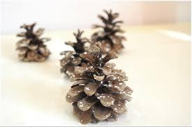 last minute effortless diy idea snowy pine cones