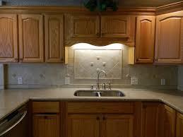Slate Kitchen Backsplash Granite Countertop Apron Front Sink Cabinet Slate Tile