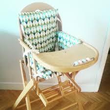 cool coussin chaise haute bois extraordinaire avec sangle combelle