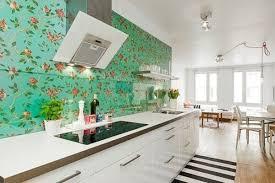 modern kitchen wallpaper ideas 17 inspire wallpaper in the kitchen home design and interior