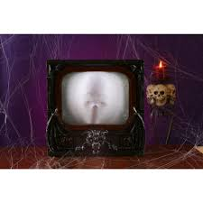 terrorvision tv haunted house prop haunted garage prop animated