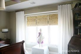 Extra Wide Curtain Rods Curtains Curtains For Very Wide Windows Ideas Windows Drapery Rods