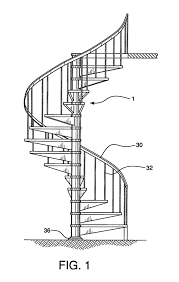 spiral staircase plan elevation staircase gallery