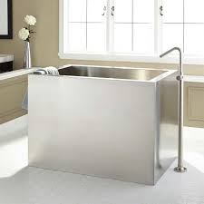 fantastic steel bathtubs square shape design ideas of cool durable