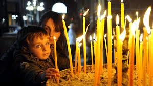 Easter Decorations In Greece by Greek Easter U0026 The U201clambada U201d Easter Candle U2013 Zayiana