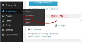 wordpress theme editor gone wordpress website editor missing from appearance menu
