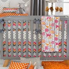 Sweet Potato Crib Bedding Sweet Potato Caliope 4 Crib Bedding Set