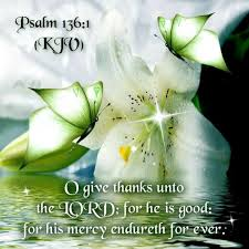 psalm 136 1 kjv o give thanks unto the lord for he is