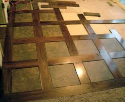 porcelain inlays in hardwood stunning entry of foyer flooring