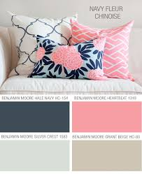 what colors go good with pink caitlin wilson textiles perfect preppy chic summer color palette